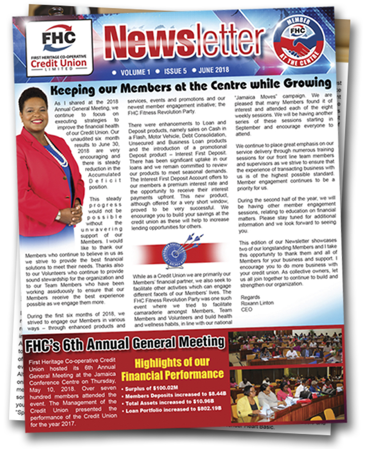 fhc june newsletter front page