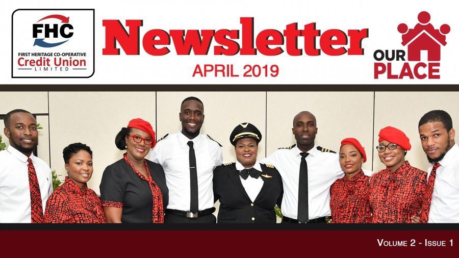 FHC April 2019 Newsletter - Our Place